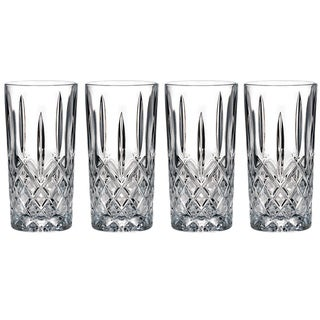 Marquis by Waterford Markham Hiball Glasses (Set of 4)