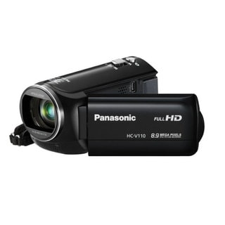 Panasonic HC-V110 HD 8.9MP Black Camcorder