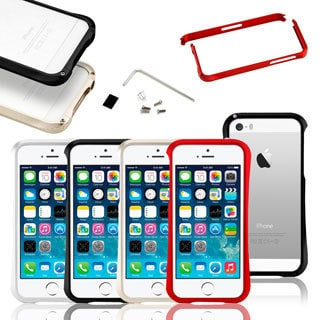 Gearonic Luxury Aluminum Bumper Hard Frame Case Cover for iPhone 5 5S