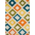 Stella Diamond-multi Shag Rug (7'7 x 10'5)