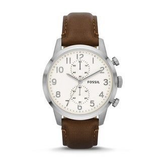 Fossil Men's FS4872 Townsman Analog Brown Watch