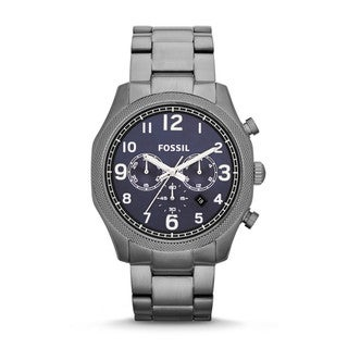 Fossil Men's Foreman Analog Quartz Black Watch