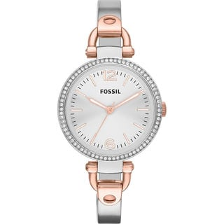 Fossil Women's ES3447 Georgia Two Tone Watch