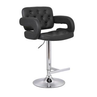 Stout Black Bar Stool 12725332 Overstock Com Shopping