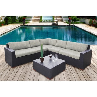 Andover 6-piece Sunbrella Oudoor Sectional Set