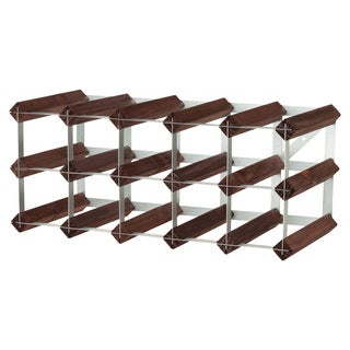 Anchor Hocking Pine 15 Bottle Wine Rack