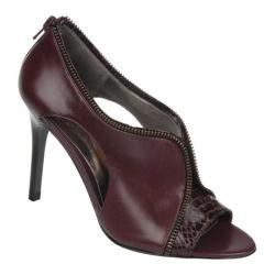 Women's Carlos by Carlos Santana Passion Wine Leather/Manmade Snake Inset