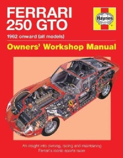 Ferrari 250 GTO: 1962 Onwards (All Models) Owners' Workshop Manual, An Insight Into the Design, Engineering, Main... (Hardcover)