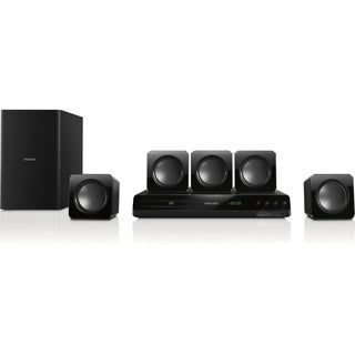 Philips HTD3514 5.1 Home Theater System - 300 W RMS - DVD Player