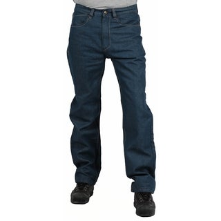 MO7 Men's Medium Indigo Straight Leg Fashion Jeans