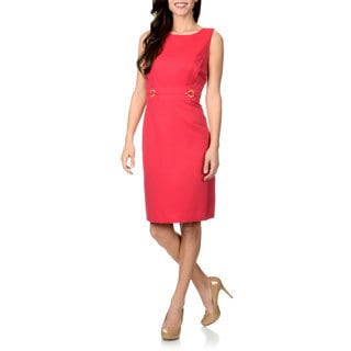 Tahari Arthur S. Levine Women's Textured Sheath Dress
