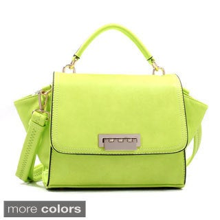 Petite Top Handle Flap-over Satchel