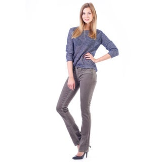 Stitch's Women's Comfort Denim Low Rise Straight Leg Jeans