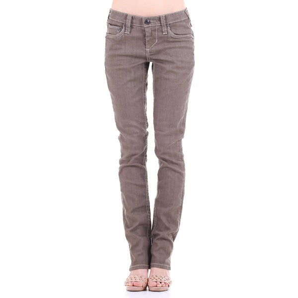 Stitch's Women's Original Classic Denim Straight Leg Jeans