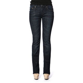 Stitch's Women's Soft Denim Stretch Straight Leg Jeans
