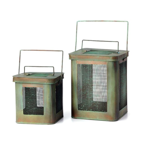 Sage & Co Tin Canister Lantern (Set of 2)