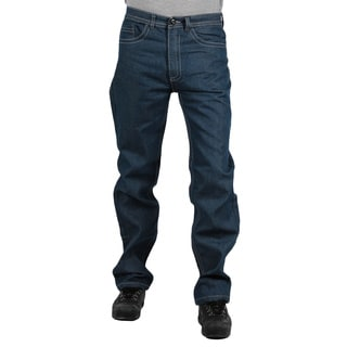 MO7 Men's Medium Indigo Straight Leg Jeans