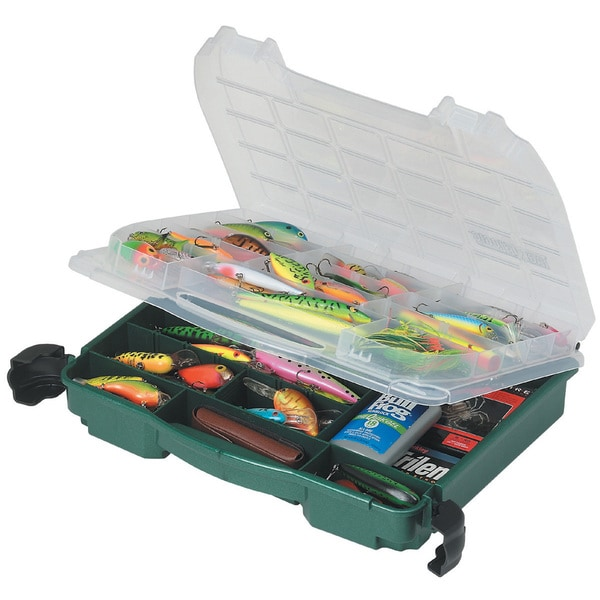 Plano Green Double Cover Tackle Box