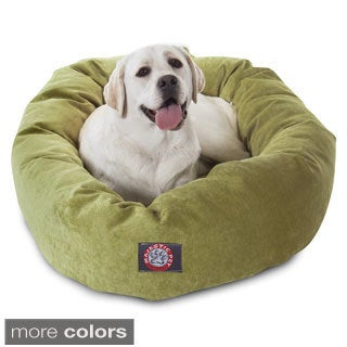 Majestic Pet 40-inch Villa Collection Micro-velvet Bagel-style Pet Bed