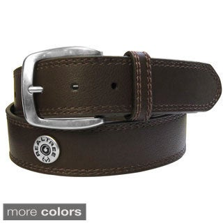 Real Tree Leather Double-stitched Shot Shell Belt