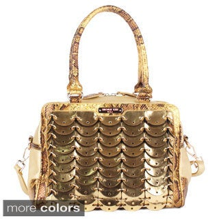 Nicole Lee 'Grechen' Circular Chained Hobo Bag