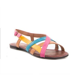 Gomax Women's 'Berdine 90' Multicolored Strappy Sandals