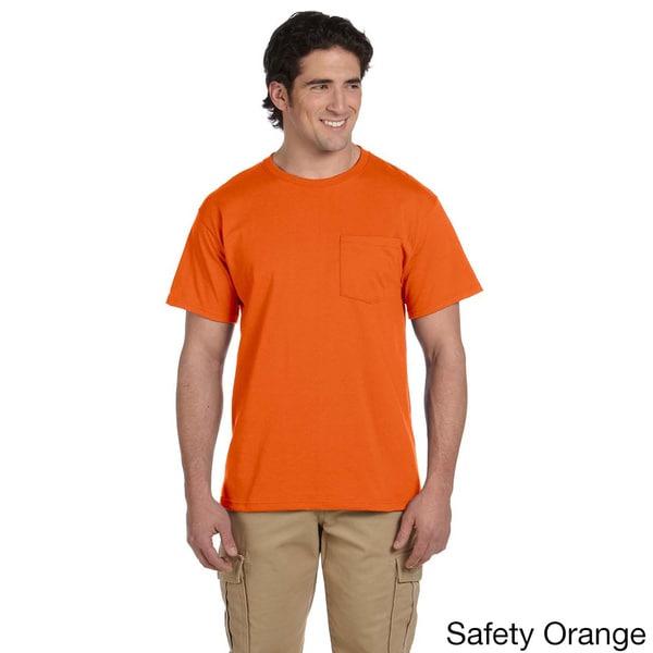 Jerzees Men's 50/50 Heavyweight Blend Pocket T-Shirt 12709782