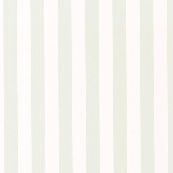 Sage Green Classic Stripe Wallpaper