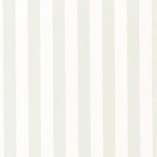 Sage Green Classic Stripe Wallpaper