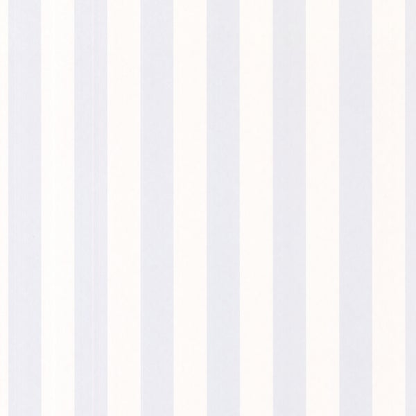 Pale Blue Classic Stripe Wallpaper