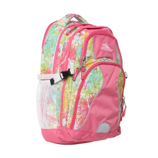 High Sierra Bright Flight Pink Swerve Daypack