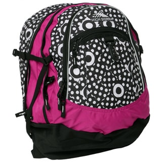 High Sierra Dicey Dots Fuchsia Fatboy Backpack