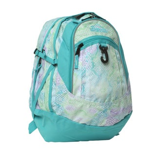 High Sierra Snake Dye Tropical Fatboy Backpack