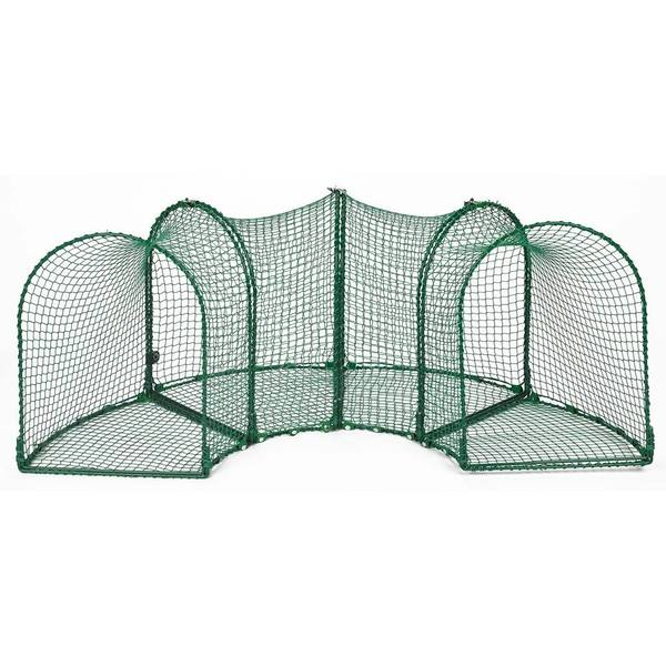 Kittywalk Curves 4-piece Outdoor Cat Enclosure