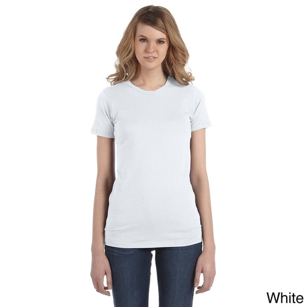 Alternative Women's Tear-away Basic Crew Neck Top