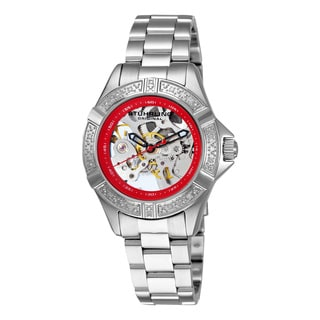 Stuhrling Original Women's Lady Regatta Skeleton Automatic Bracelet Watch