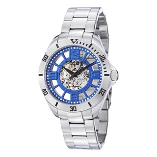 Stuhrling Original Men's Neo Winchester Automatic Stainless Steel Bracelet Watch