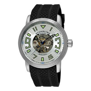 Stuhrling Original Mens Delphi Archer Automatic Sillicon Rubber Strap Watch