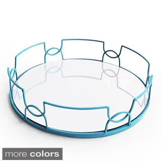 15-inch Diameter Mirror Tray