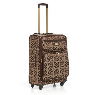 Anne Klein Mane Line 24-inch Medium Expandable Spinner Upright Suitcase
