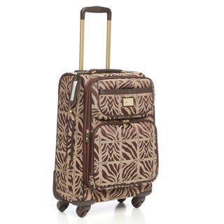 Anne Klein Mane Line 20-inch Carry-on Expandable Spinner Upright Suitcase