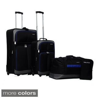 Nautica Centerline 4-piece Luggage Set