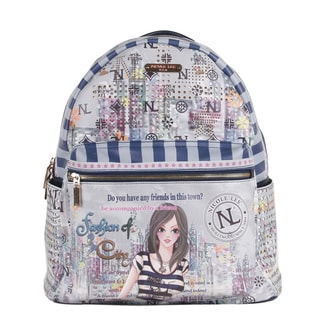 Nicole Lee Dolly Print Quinn 20-inch Fashion Backpack