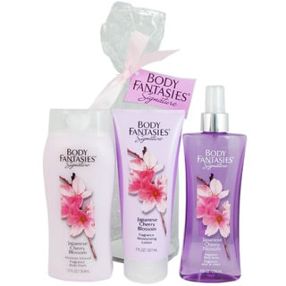 Body Fantasies Japanese Cherry Blossom 3-piece Set