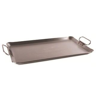 Steel Griddle w Handle 10GA