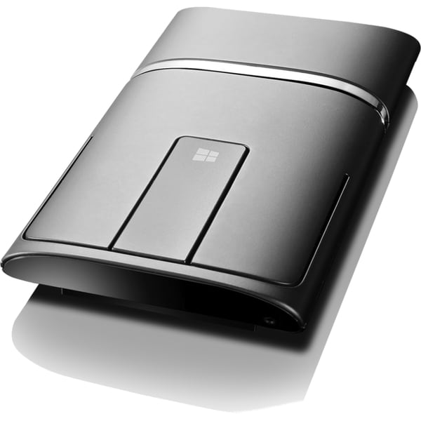 Lenovo N700 Wireless and Bluetooth Mouse and Laser Pointer (Black)