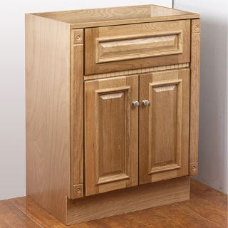 Heritage Oak 30x18 Vanity Cabinet