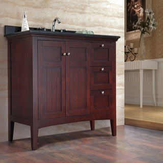 Ove Decors 'Gavin' 42-inch Tobacco Brown Single Sink Vanity