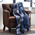 Eddie Bauer Eastmont Reversible Cotton Quilted Throw