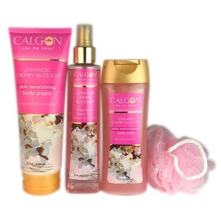 Calgon Spring Cherry Blossom 4-piece Set